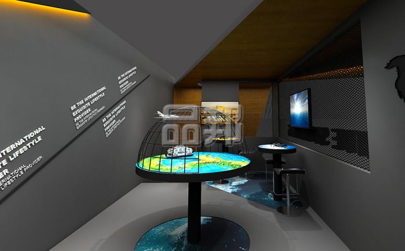 东渡国际集团展台设计