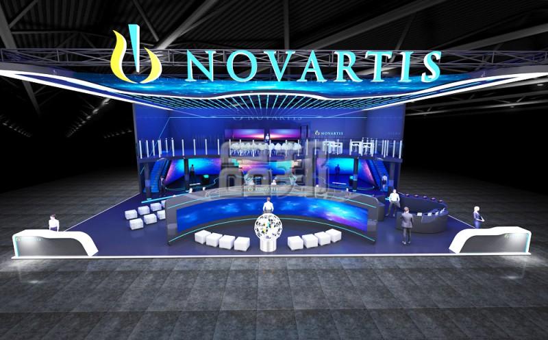 诺华制药展览设计