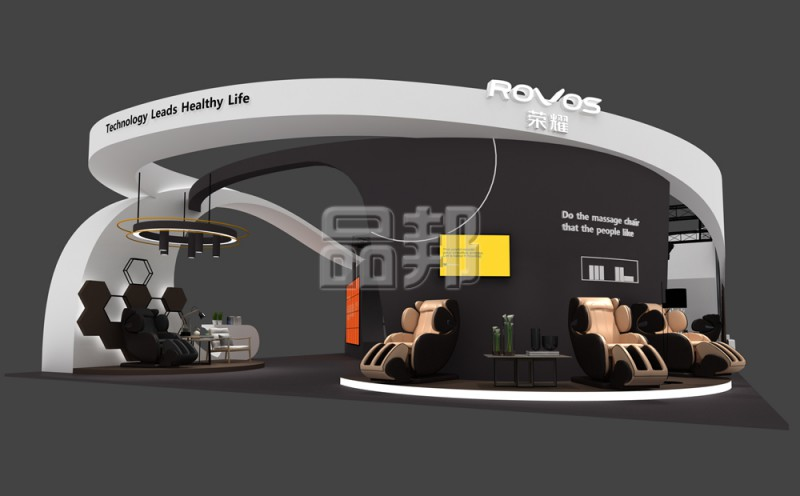 荣耀上海展台设计制作