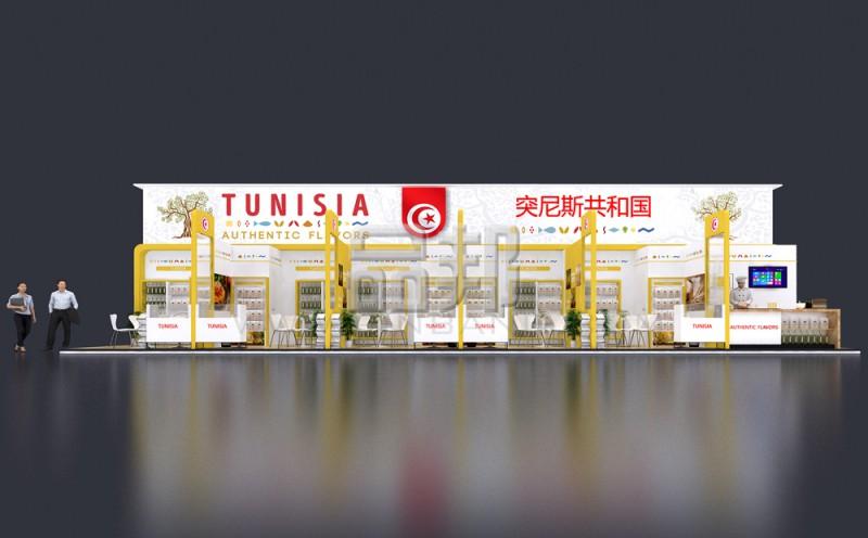 突尼斯展位设计