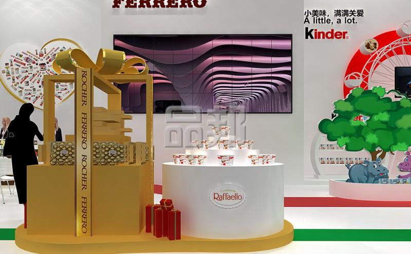 费列罗展台设计布置