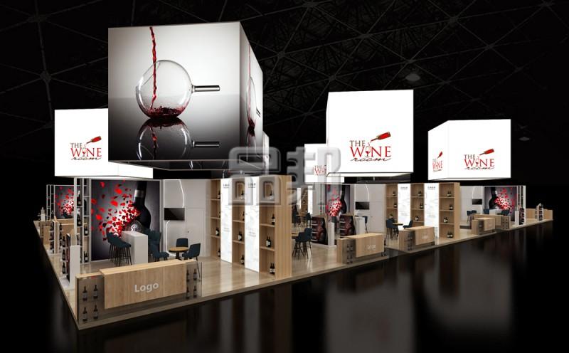 红酒展团设计搭建