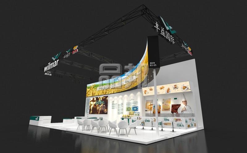 豐益國際展臺設計搭建