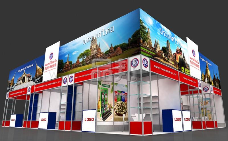 泰国展团设计