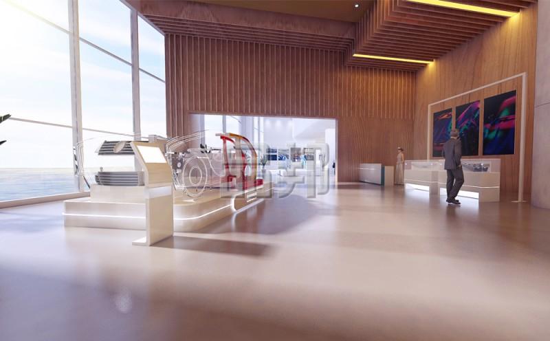 凌云工业展厅设计
