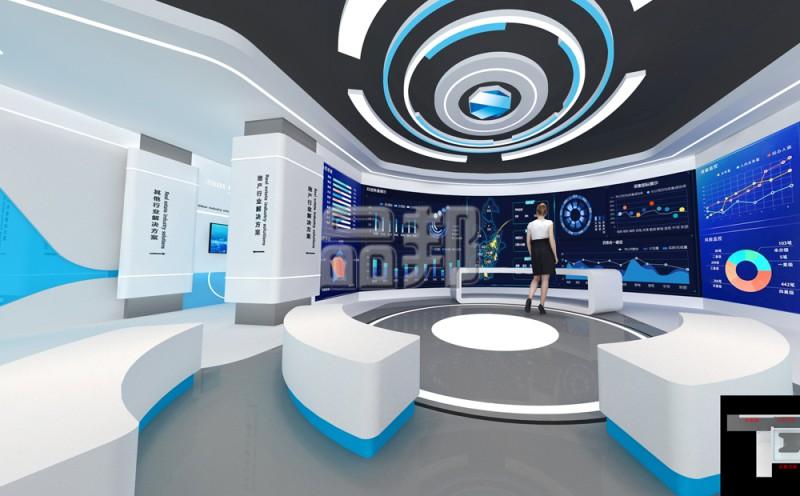 亚派科技展厅设计
