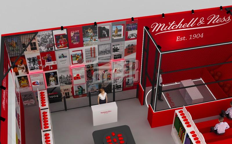 Mitchell & Ness 展览设计