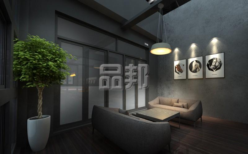 兆禧门窗展台设计