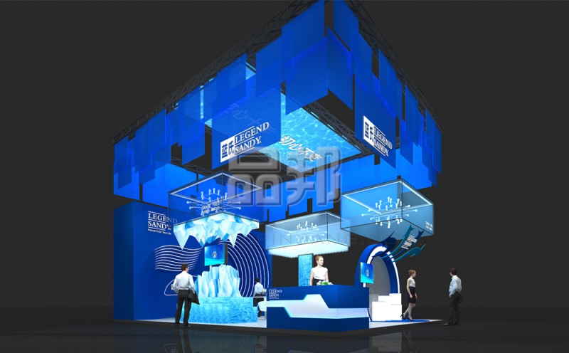 蓝氏宠物用品展览设计