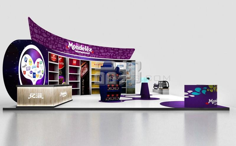 亿滋国际展览设计搭建服务